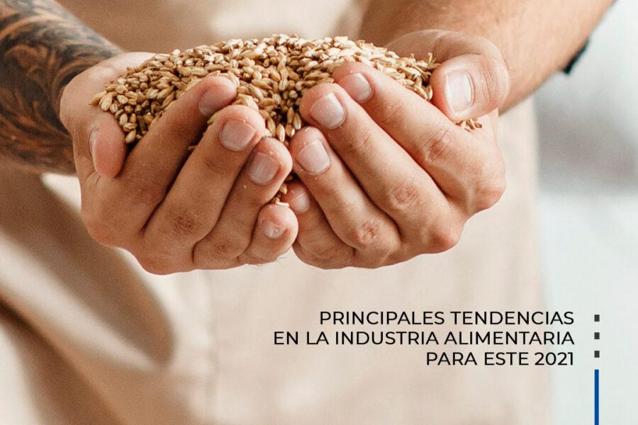 Principales tendencias en la industria alimentaria.