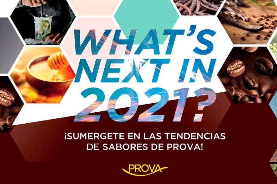 Lo nuevo para el 2021.